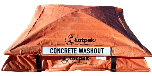 Outpak 6'x6' All Weather Concrete Washout Container Primary View